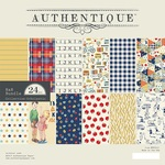 Scholastic 8 x 8 Paper Pad - Authentique