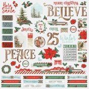 Country Christmas Combo Sticker - Simple Stories