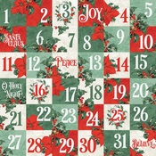 2x2 Elements Paper - Country Christmas - Simple Stories - PRE ORDER