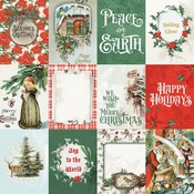 3x4 Elements Paper - Country Christmas - Simple Stories