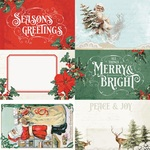 4x6 Elements Paper - Country Christmas - Simple Stories