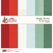 Country Christmas Simple Basics Kit - Simple Stories