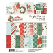 Country Christmas 6x8 Pad - Simple Stoires