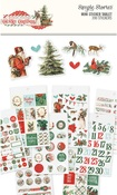 Country Christmas Mini Sticker Tablet - Simple Stories