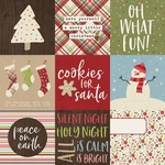 4x4 Elements Paper - Holly Holly - Simple Stories