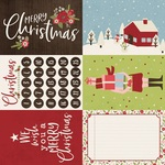 4x6 Elements Paper - Holly Holly - Simple Stories