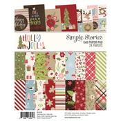 Holly Jolly 6x8 Pad - Simple Stories - PRE ORDER