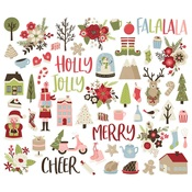 Holly Jolly Bits & Pieces - Simple Stories