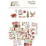 Holly Jolly Mini Sticker Tablet - Simple Stories - PRE ORDER
