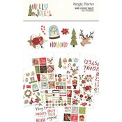 Holly Jolly Mini Sticker Tablet - Simple Stories