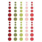Holly Jolly Enamel Dots - Simple Stories