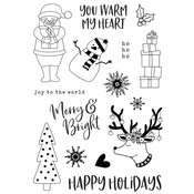 Holly Jolly Stamps - Simple Stories