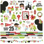Say Cheese Christmas Combo Sticker - Simple Stories