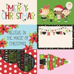 4x6 Elements Paper - Say Cheese Christmas - Simple Stories