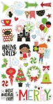 Say Cheese Christmas Chipboard - Simple Stories