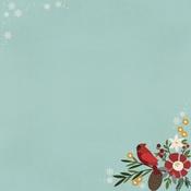 Hello Winter Paper - Winter Farmhouse - Simple Stories