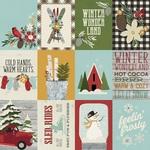 3x4 Elements Paper - Winter Farmhouse - Simple Stories