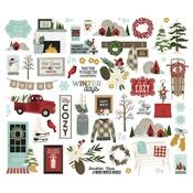 Winter Farmhouse Bits & Pieces - Simple Stories
