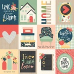 3x4 Elements Paper - So Happy Together - Simple Stories