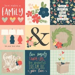 4x4 Elements Paper - So Happy Together - Simple Stories