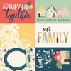 4x6 Elements Paper - So Happy Together - Simple Stories