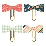 So Happy Together Bow Clips - Simple Stories