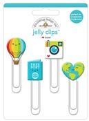 I ♥ Travel Jelly Clips - Doodlebug