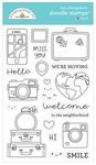 I ♥ Travel Doodle Stamps - Doodlebug
