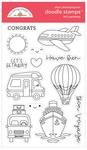 Let's Get Away Doodle Stamps - Doodlebug