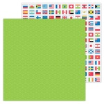 World Traveler Paper - I ♥ Travel - Doodelbug