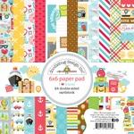 I ♥ Travel 6 x 6 Paper Pad - Doodlebug