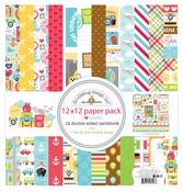 I ♥ Travel Paper Pack - Doodlebug
