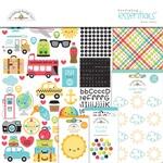 I ♥ Travel Essentials Kit - Doodlebug