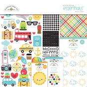 I ♥ Travel Essentials Kit - Doodlebug