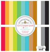 I ♥ Travel Textured Cardstock Assortment Pack - Doodlebug