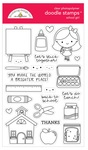 School Girl Stamps - Doodlebug