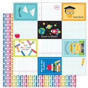 Color Me Happy Paper - School Days - Doodlebug