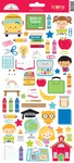 School Days Icon Stickers - Doodlebug