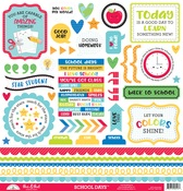 School Days This & That Stickers - Doodlebug