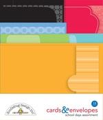 School Days Cards & Envelope - Doodlebug