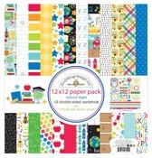 School Days 12 x 12 Paper Pack - Doodlebug