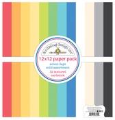 School Days Textured Cardstock Assortment Pack - Doodlebug