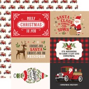 4X6 Journaling Cards Paper - My Favorite Christmas - Echo Park