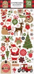 Chipboard Accents - My Favorite Christmas - Echo Park