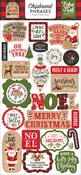Chipboard Phrases - My Favorite Christmas - Echo Park
