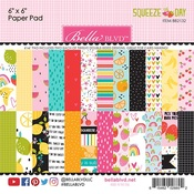 Squeeze The Day 6 x 6 Paper Pad - Bella Blvd
