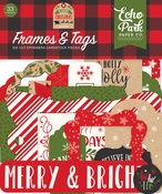Frames & Tags - My Favorite Christmas - Echo Park