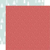 Holly Jolly Paper - Peppermint Kisses - KaiserCraft