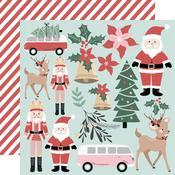 Santa & Co Paper - Peppermint Kisses - KaiserCraft