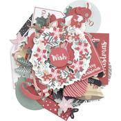 Peppermint Kisses Kaisercraft Collectables Cardstock Die-Cuts